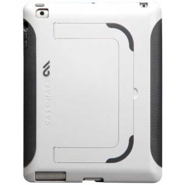 Case-Mate Pop! Case with Stand for Apple iPad 4 - White/Grey (CM020461)