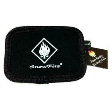 Professional Cable Buds Buddy - Black SnowFire Earbuds Neoprene Zipper Carry Case