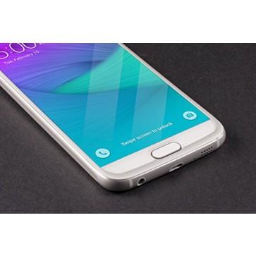 Bodyguardz Pure Glass ScreenGuardz + The Crown for Samsung Galaxy S6 (Silver
