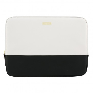 "kate spade new york Color-Block Sleeve with Metallic Detailing for 13"" MacBook - Black/Cement/Gold"
