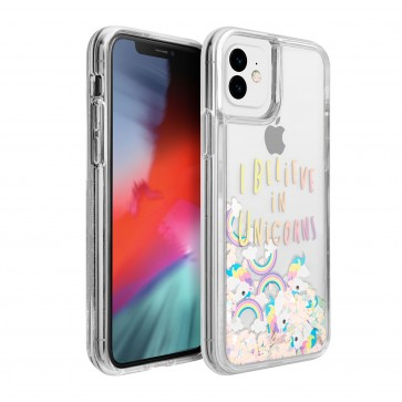 Laut iPhone 11 LIQUID GLITTER UNICORN