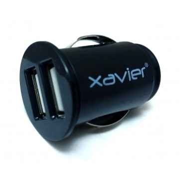 Professional Cable CAR-USB Dual USB Car Charger for iPhone, iPod, and More - Black