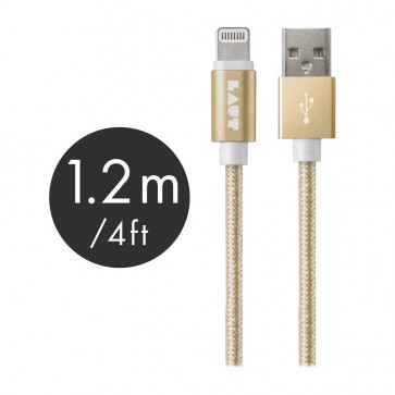 Laut LINK MFI Certified USB to Lightning Cable 120cm Gold