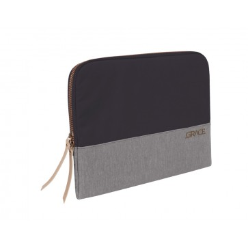 """STM grace 15""""  laptop sleeve cloud grey"""