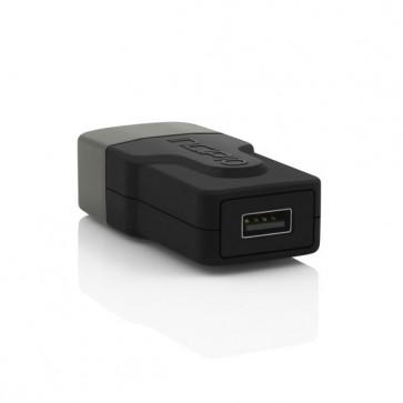 Incipio Single Port USB Wall Charger - Black 2.4A