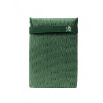 "STM knit glove sleeve (15"") - green"
