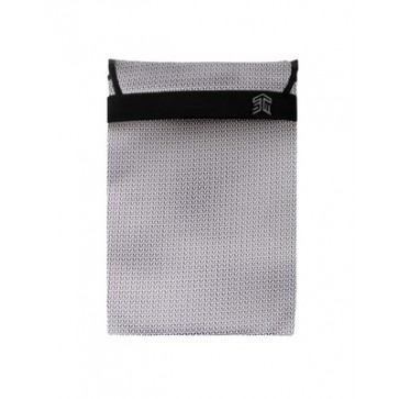 "STM knit glove sleeve (15"") - white"