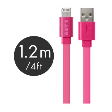 Laut LINK MFI Certified USB to Lightning Cable 120cm Pink