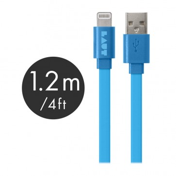 Laut LINK MFI Certified USB to Lightning Cable 120cm Blue
