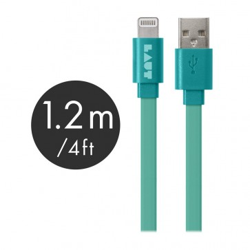 Laut LINK MFI Certified USB to Lightning Cable 120cm Turquosie