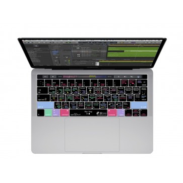 KB Covers Logic Pro X Keyboard Cover for MacBook Pro (Late 2016+) w/ Touch Bar