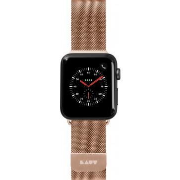 Laut STEEL LOOP For Apple Watch Series 1-5 Gold (38/40mm)