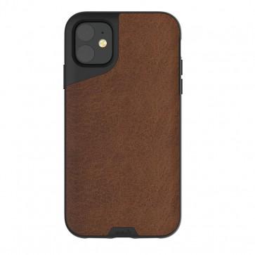 Mous iPhone 11 Contour Case Brown Leather