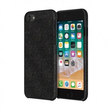 Incipio Esquire Series Slim Case for iPhone 8 -Black Fabric