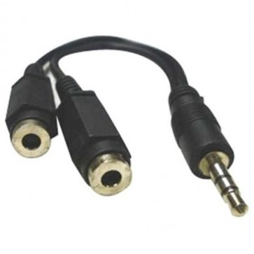 Professional Cable Stereo Headphones Splitter