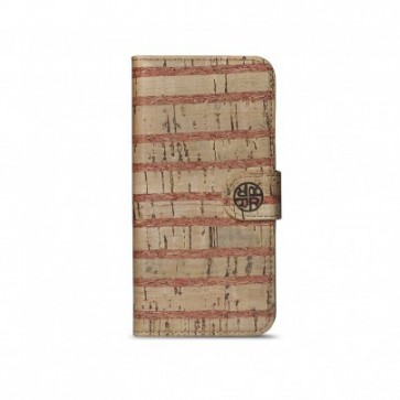 Reveal Striped Cork iPhone 6 Folio
