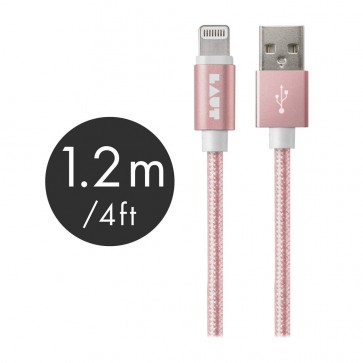 Laut LINK MFI Certified USB to Lightning Cable 120cm Rose Gold