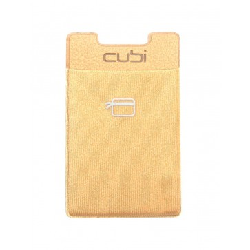 CardNinja Ultra-slim Self Adhesive Credit Card Wallet for Smartphones, Gold