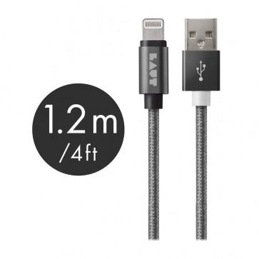 Laut LINK MFI Certified USB to Lightning Cable 120cm Gun Metal
