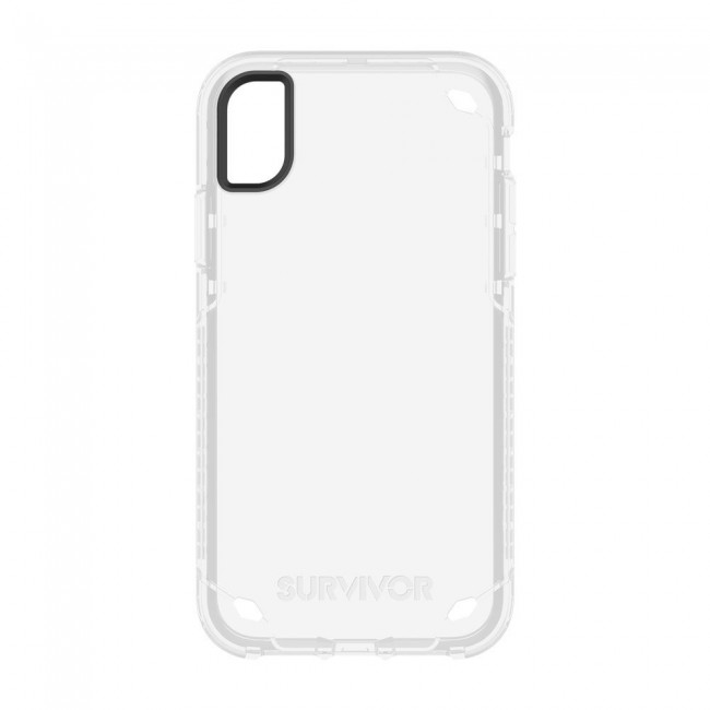 best sneakers 5a685 56395 Griffin Survivor Strong for iPhone XR - Clear