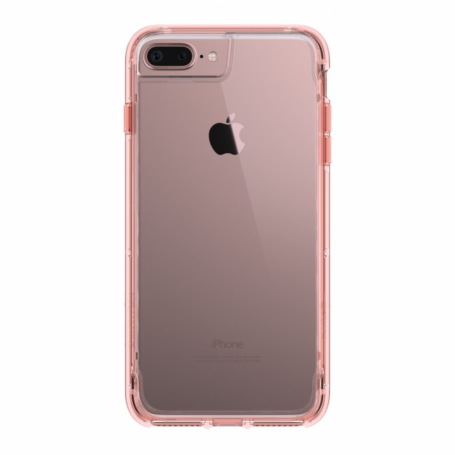 san francisco 44307 e4bcb Griffin Survivor Clear - Rose Gold - iPhone 8 Plus/7 Plus/6 Plus/6S Plus