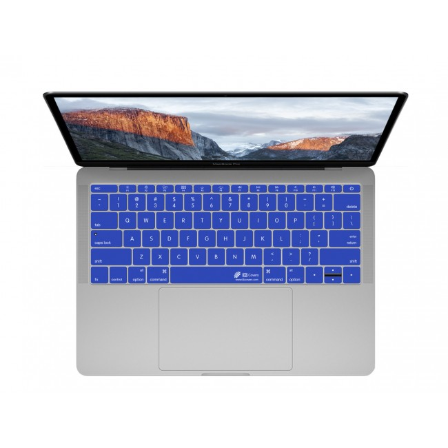 timeless design 672e4 67f3c KB Covers Dark Blue Keyboard Cover for MacBook 12