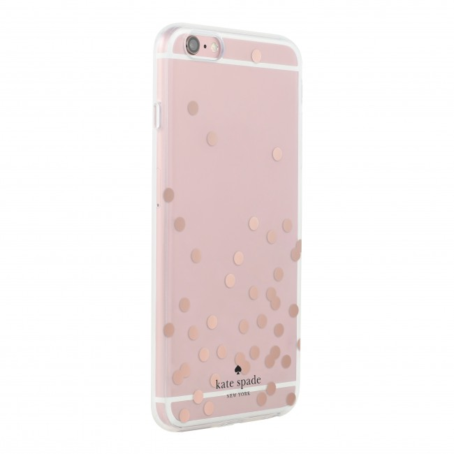 kate spade new york Hardshell Clear Case for iPhone 5/5s/SE - Confetti