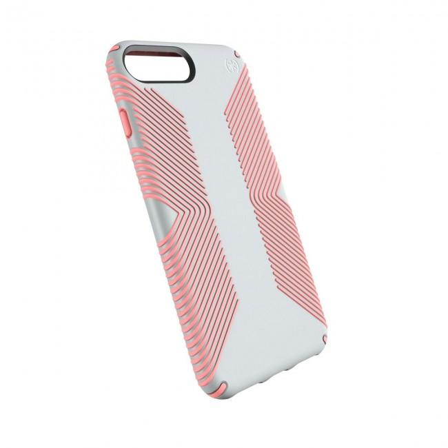 promo code 7e83a fe0f3 Speck iPhone 8 Plus/7 Plus/6 Plus/6S Plus Presidio Grip - Dove Grey/Tart  Pink