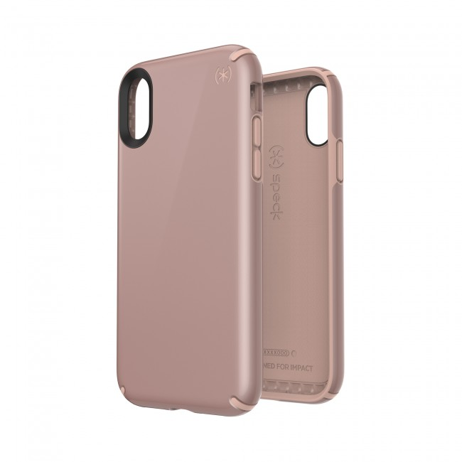 wholesale dealer f54e2 d0905 Speck iPhone XR PRESIDIO METALLIC ROSE GOLD METALLIC/DAHLIA PEACH