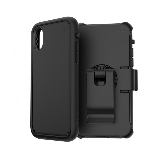 the latest 2a6ea bb646 Speck iPhone X/Xs PRESIDIO ULTRA BLACK/BLACK/BLACK