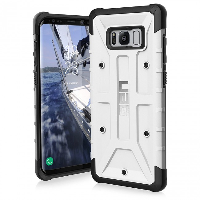 newest d9a18 fffca UAG Samsung Galaxy S8 Plus Pathfinder Case - White And Black