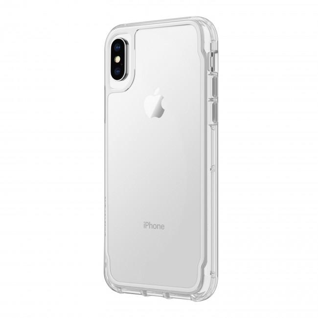 newest 5b4a9 ff079 Griffin Survivor Clear - White Dust - iPhone X