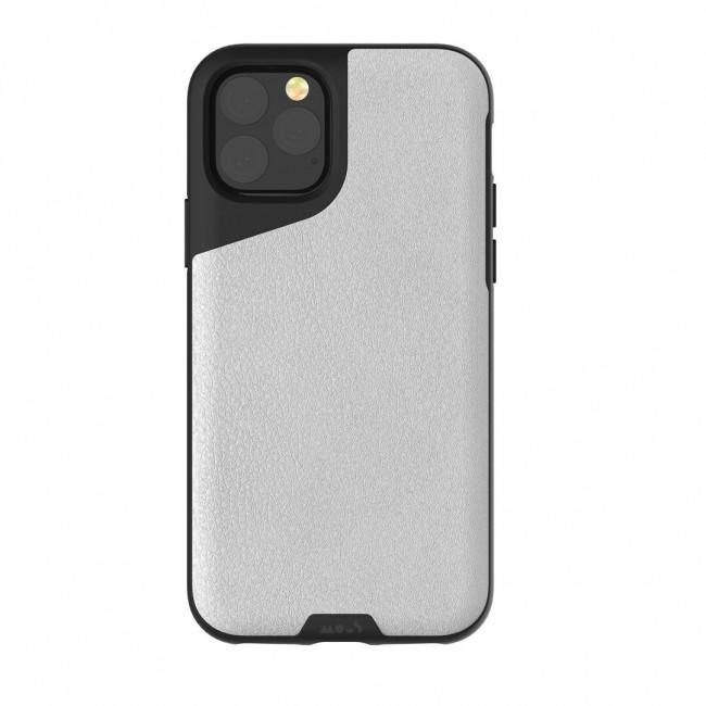 Mous iPhone 11 Pro Max Contour Case White Leather