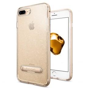 Spigen iPhone 8 Plus/7 Plus Crystal Hybrid Glitter Gold Quartz