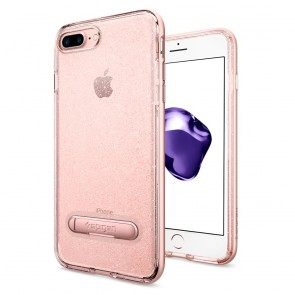 Spigen iPhone 8 Plus/7 Plus Crystal Hybrid Glitter Rose Quartz