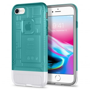 Spigen iPhone 7 / 8 Classic C1 Case Bondi Blue