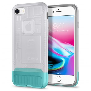 Spigen iPhone 7 / 8 Classic C1 Case Snow