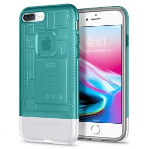 Spigen iPhone 7 Plus / 8 Plus Classic C1 Case Bondi Blue