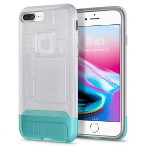Spigen iPhone 7 Plus / 8 Plus Classic C1 Case Snow