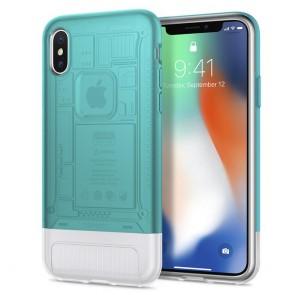 Spigen iPhone X Classic C1 Case Bondi Blue