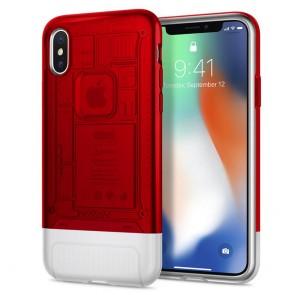 Spigen iPhone X Classic C1 Case Ruby