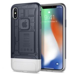 Spigen iPhone X Classic C1 Case Graphite