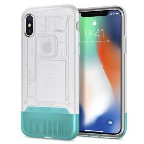Spigen iPhone X Classic C1 Case Snow