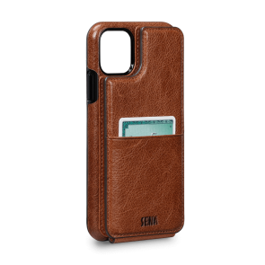 Sena Walletskin iPhone 11 Cognac