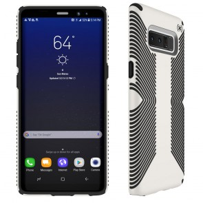 Speck Samsung Galaxy Note 8 Presidio Grip - White/Black