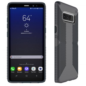 Speck Samsung Galaxy Note 8 Presidio Grip - Graphite Grey/Charcoal Grey