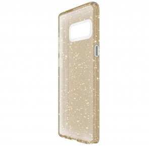 Speck Samsung Galaxy Note 8 Presidio Clear + Glitter - Clear With Gold Glitter/Clear