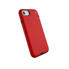 Speck iPhone 8/7 Presidio Sport - Heartrate Red/Sidewalk Grey/Black