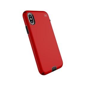 Speck iPhone X Presidio Sport - Heartrate Red/Sidewalk Grey/Black