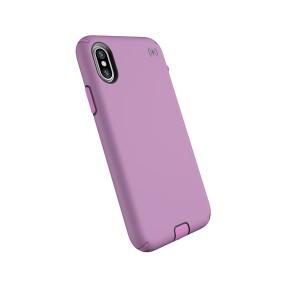 Speck iPhone X Presidio Sport - Bellflower Purple/Slate Grey/Petal Pink